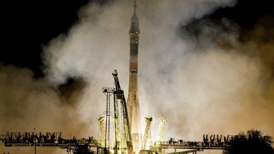 Start rakety Sojuz, ilustrační foto