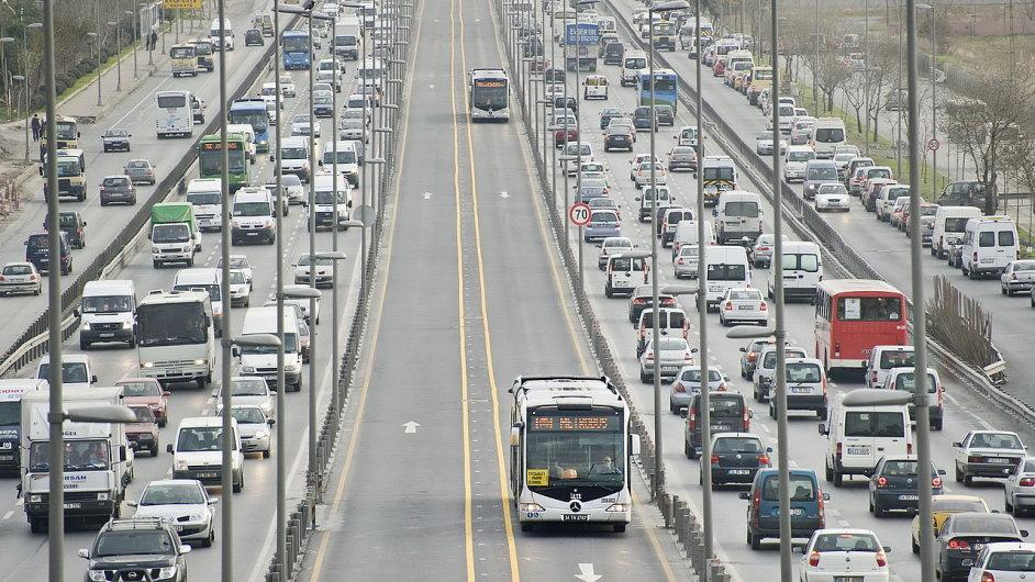 Doprava v Istanbulu, ilustrační foto