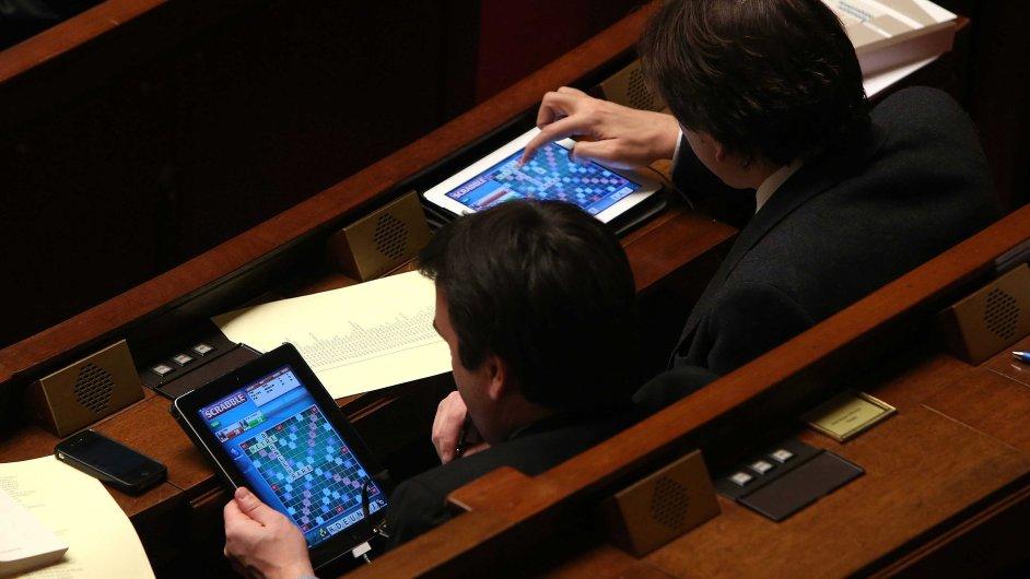 Scrabble v parlamentu