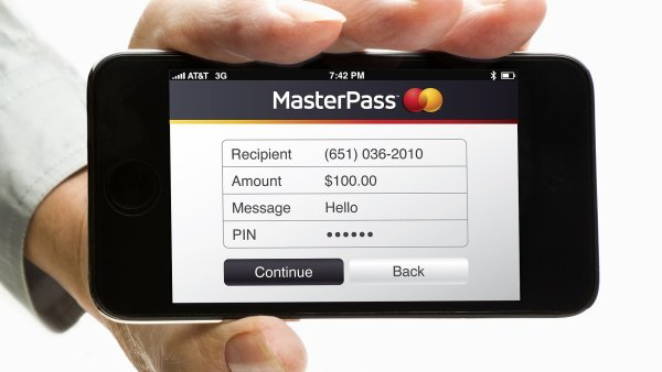 MasterPass v mobilním telefonu