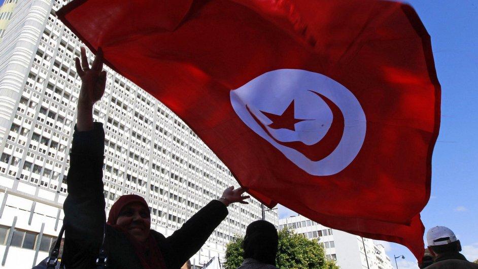 Tuniská vlajka, ilustrační foto
