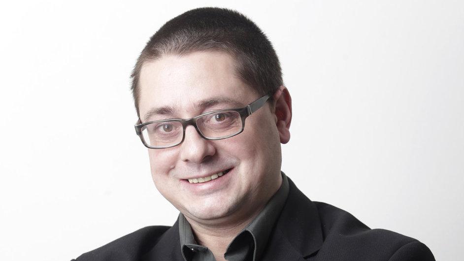 Petr Kamberský, šéfeditor Hospodářských novin