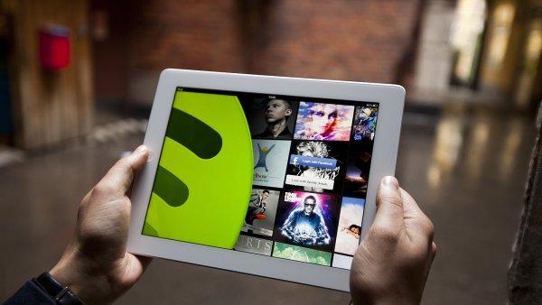 Spotify funguje na v�ech platform�ch