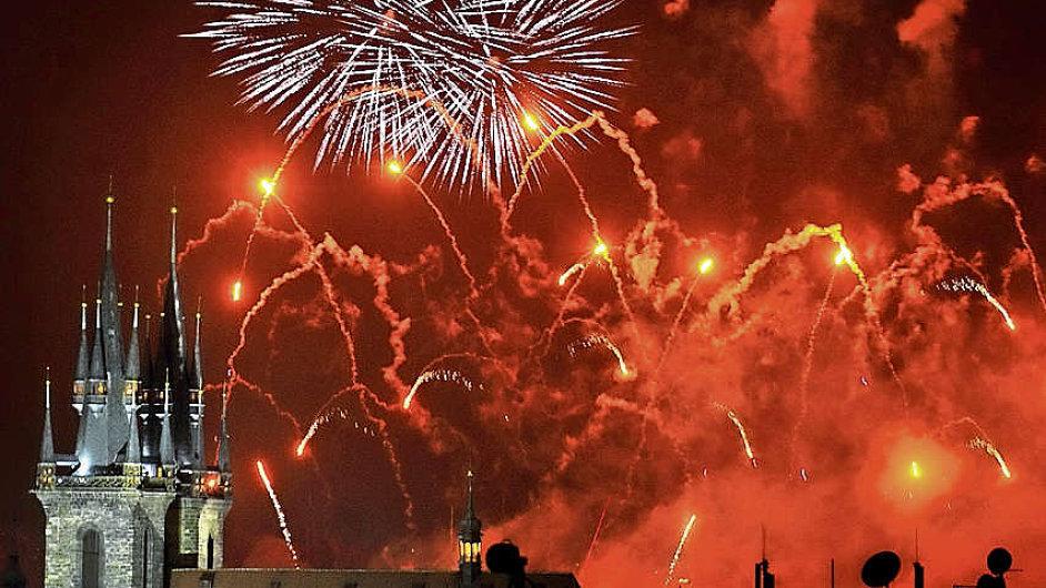Novoroční ohňostroj v Praze bude stát přibližně milion korun.