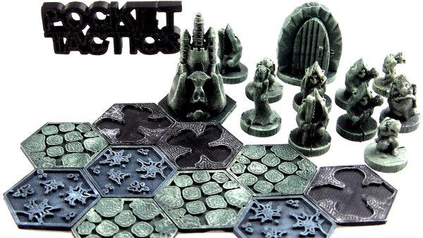 """Pocket Tactics: """"Bezplatná"""" stolní hra z 3D tiskárny"""