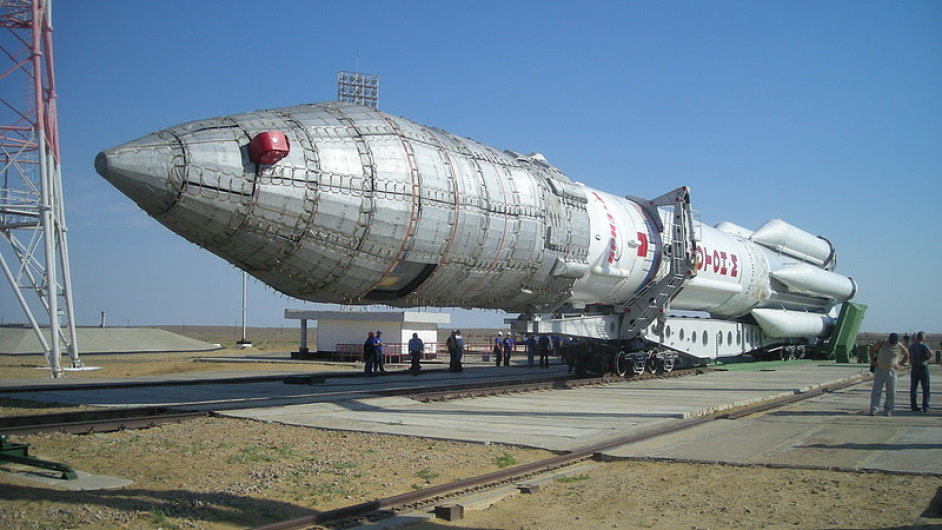 Ruská raketa Proton-M
