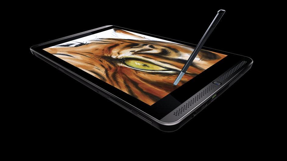 Nvidia Shield Tablet s dotykovým perem