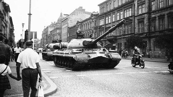 Okupace ČR v srpnu v roce 1968