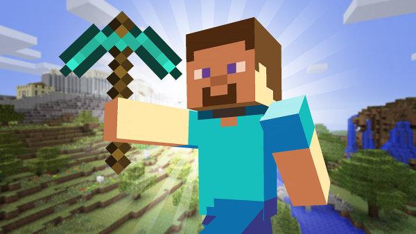 Minecraft je jedna z her, na kter� se u�ivatel� YouTube d�vaj�... jak je hraje n�kdo jin�.