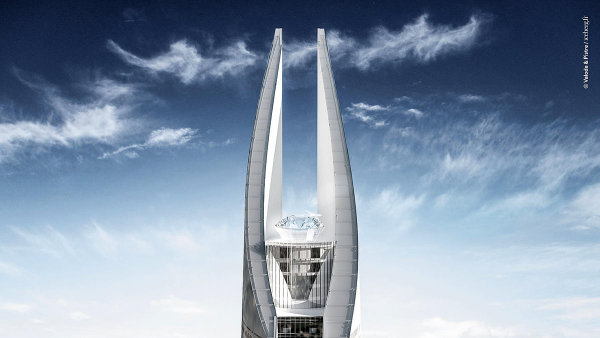 Plnic� pero pro Maroko. V Casablance m� st�t nejvy��� mrakodrap Afriky