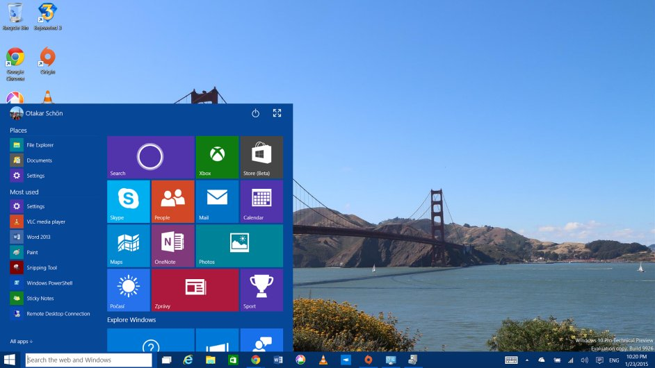 Windows 10 Technical Preview 2