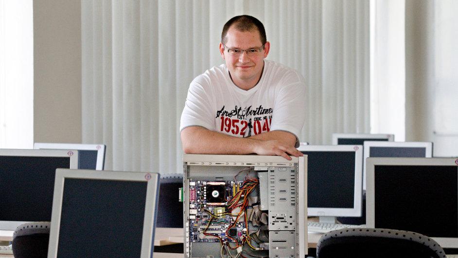 Jan Staněk, stážista u IBM