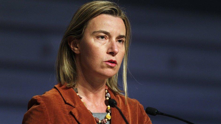 Šéfka unjní diplomacie Federica Mogheriniová