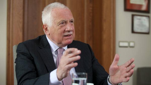 Bývalý prezident Václav Klaus se vymezil proti migrační vlně i multikulturalismu - Ilustrační foto.