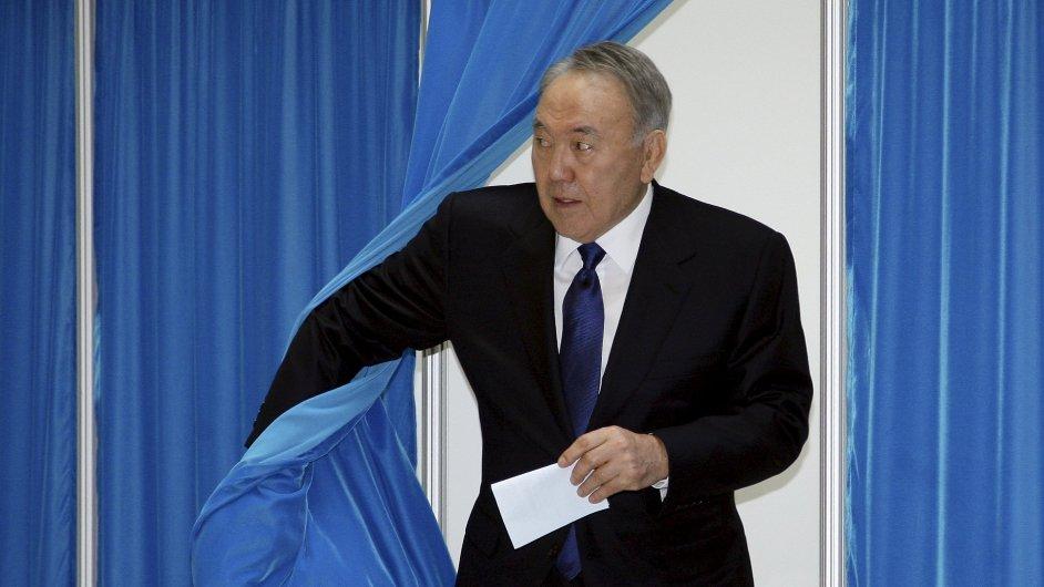 Staronovým kazašským prezidentem se nejspíš stane Nursultan Nazarbajev.