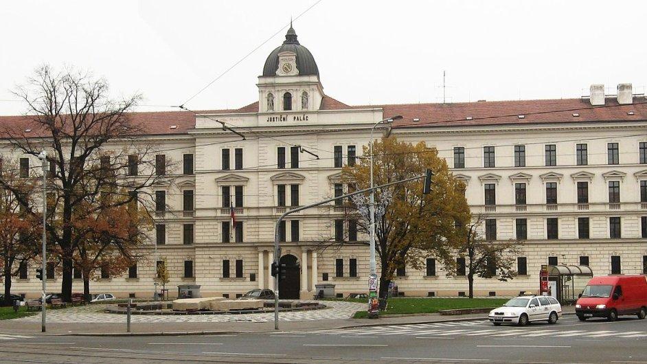 Justiční palác v Praze na Smíchově
