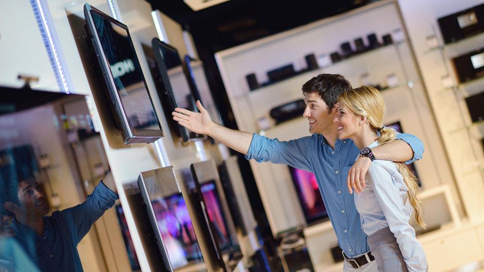 Prodejna elektroniky (ilustrační foto)