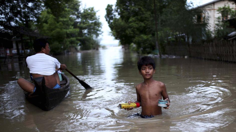 Barma, povodně