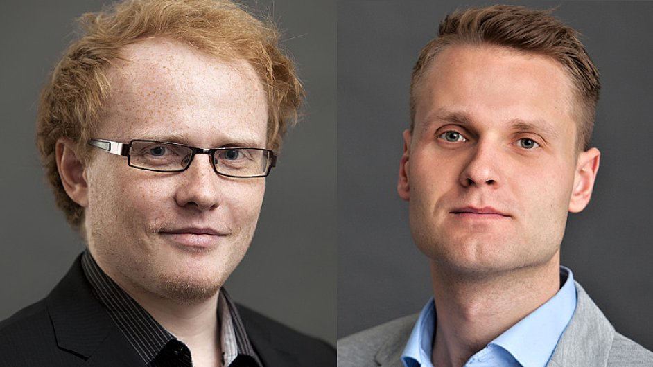 Michal Holas a Petr Slowik CzechTrade