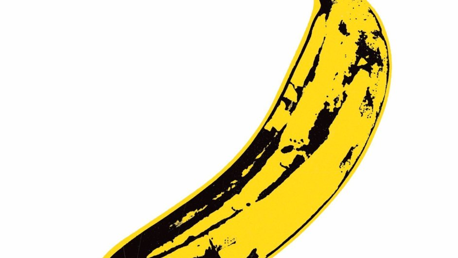 Slavný obal desky Velvet Underground & Nico navrhl Andy Warhol.