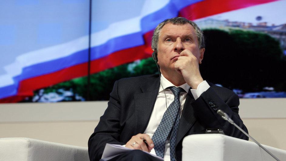 Igor Sečin, bývalý náměstek ruského premiéra pro energetiku