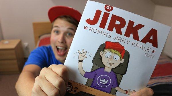 Jirka Král patří mezi nejznámější youtubery v Česku. Vydal dokonce tištěný časopis.