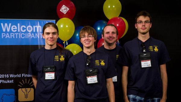 Firmy hledají vědecké talenty namezinárodních soutěžích.