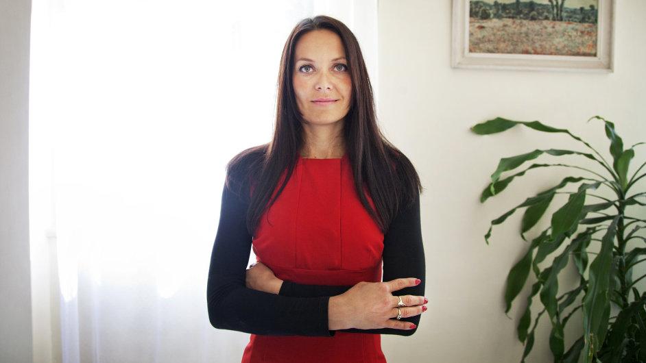 Náměstkyně ministra financí Lenka Jurošková