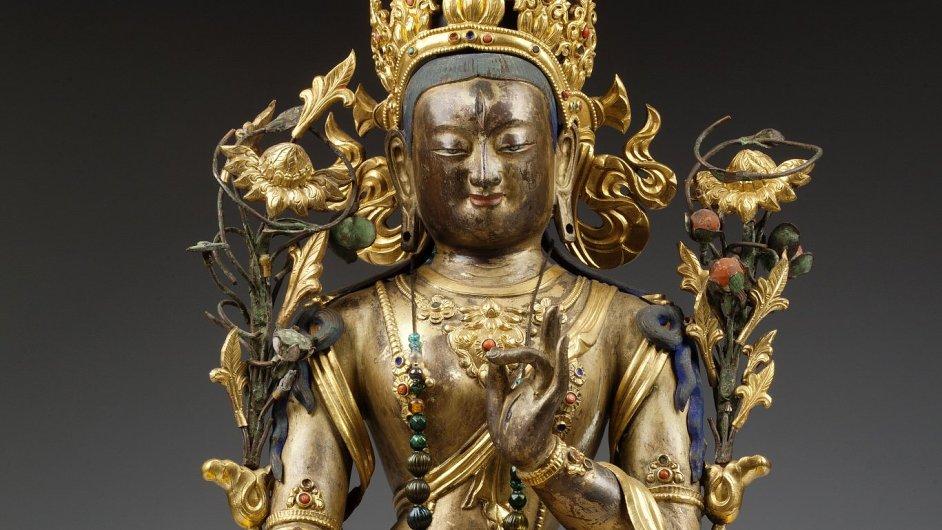 Snímek z výstavy Příběh Tibetu