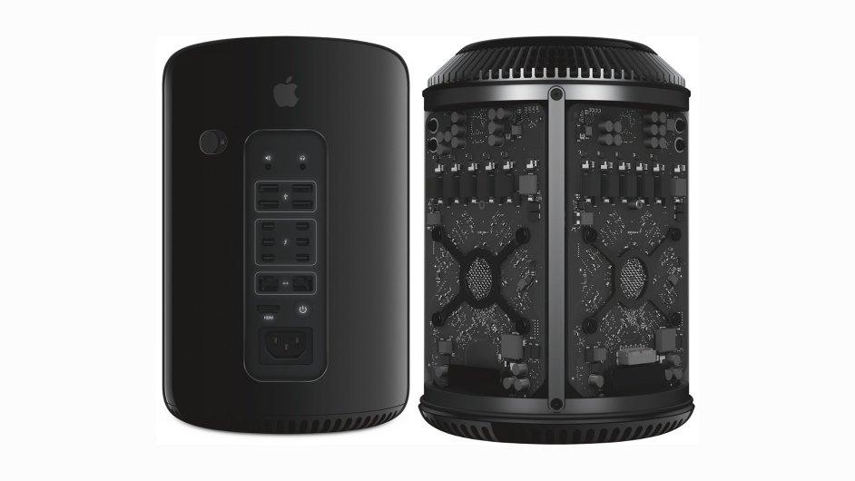 Apple Mac Pro měl chytrý design, který ale nenabídl možnost rozšíření.