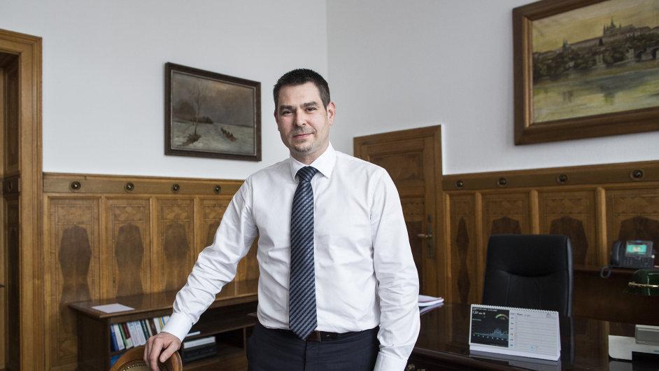Ministr průmyslu Jiří Havlíček
