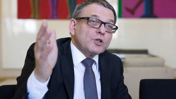 Nový šéf sociální demokracie Lubomír Zaorálek.