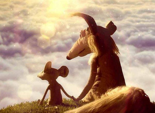 Myši patří do nebe, Denisa Grimmová, Jan Bubeníček. (Ilustrace: Rolloning pictures, Fresh Films, Maur film)