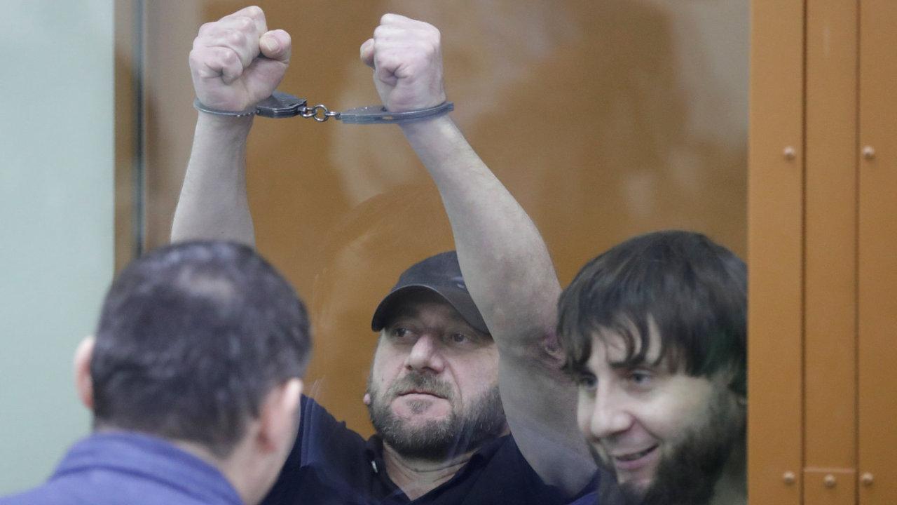 Soud s vrahy Borise Němcova.
