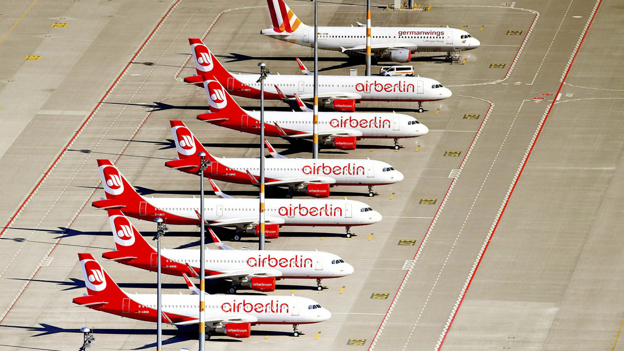 """Letadla v barvách Air Berlin měla podle ambiciózních záměrů brázdit nebe """"od Amazonských pralesů až po Kilimandžáro"""". Sen se rozplynul."""