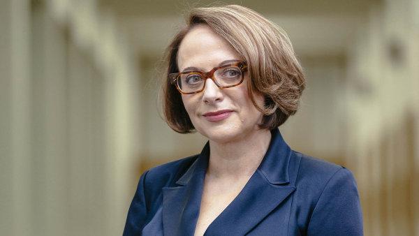 Primátorka Adriana Krnáčová.