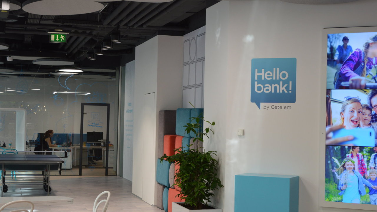 Hello Bank - dříve společnost Cetelem.