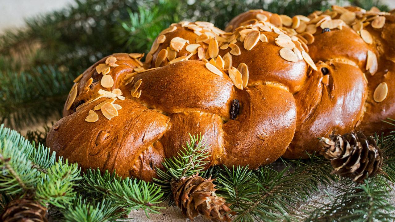 Vánočka z pražského pekařství Petite France