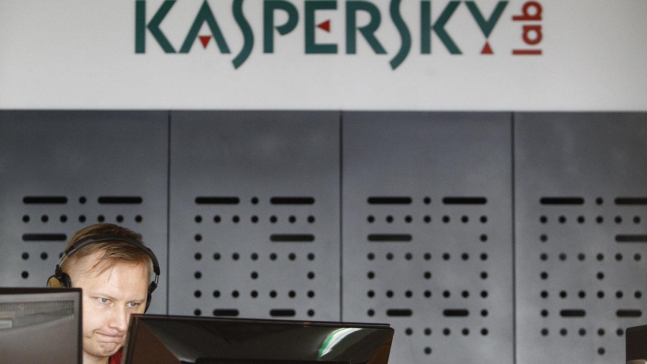 O tom, že programy firmy Kaspersky mohou pomáhat ruské tajné službě, se spekuluje už několik let. Ilustrační foto.