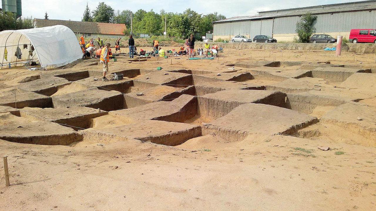 Archeologický průzkum lokality