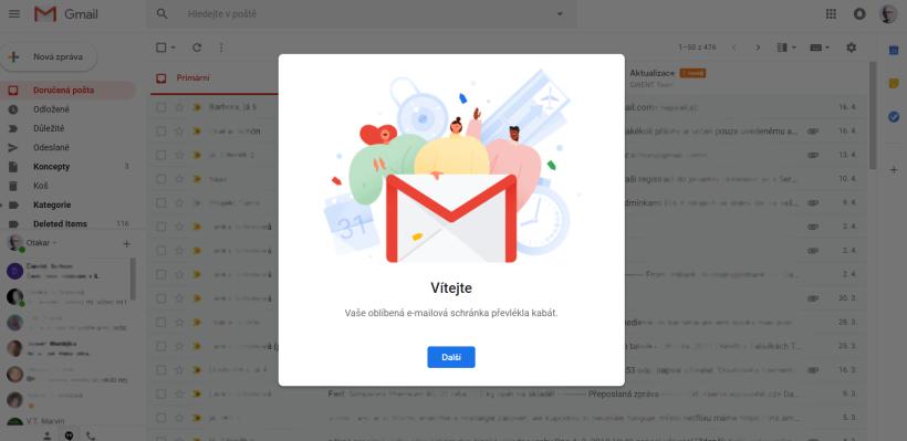 Skvělé otevírání e-mailů online