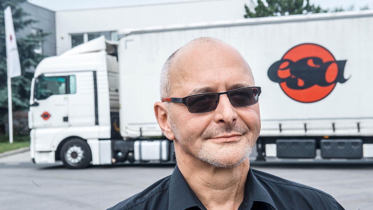 Ředitel a spolumajitel společnosti ESA Roman Pekrt