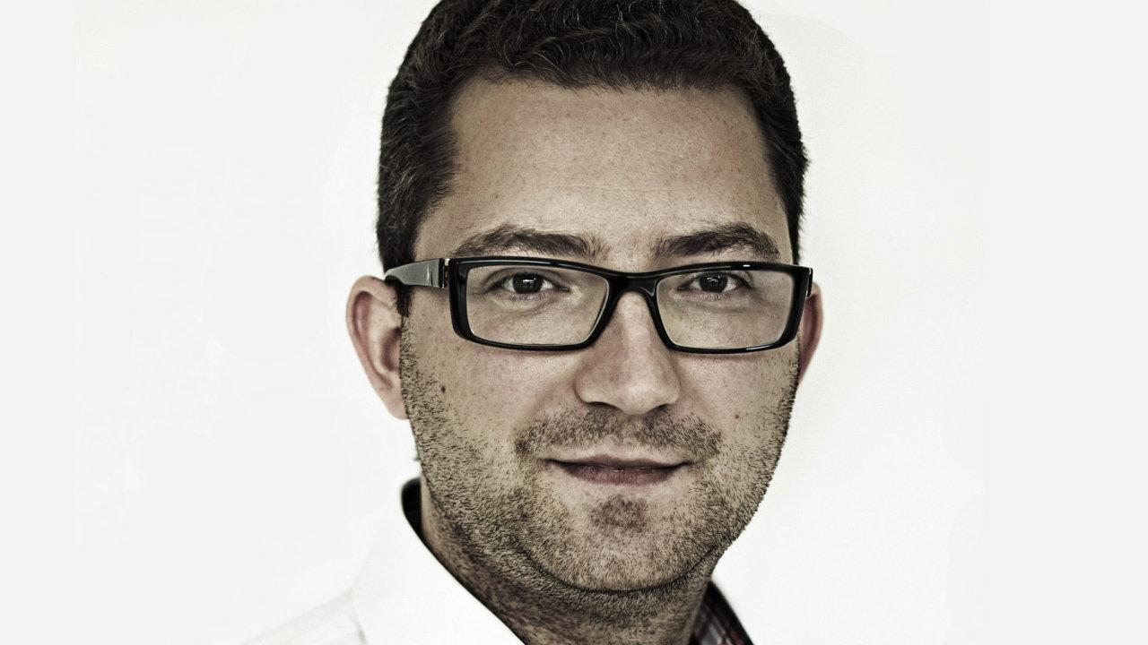 Martin Slaný, hlavní ekonom investiční skupiny DRFG