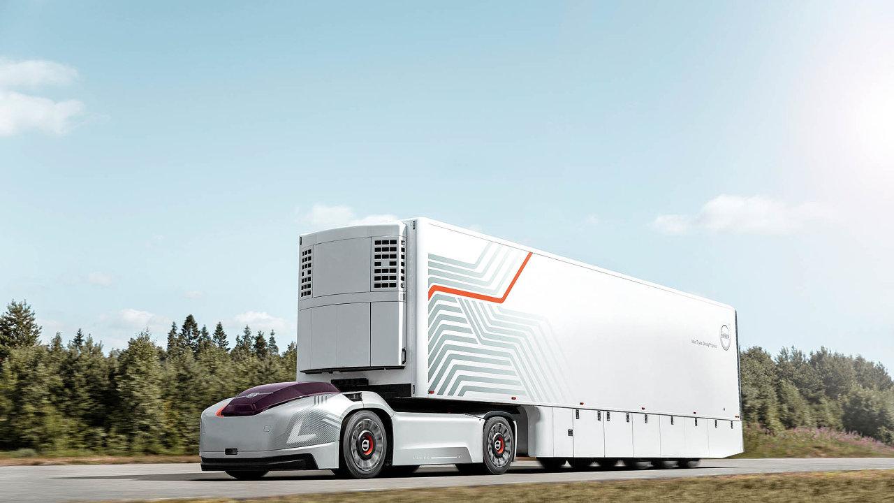 Automobilka Volvo Trucks představila prototyp přepravního řešení budoucnosti pro pravidelné a opakující se přepravní trasy.