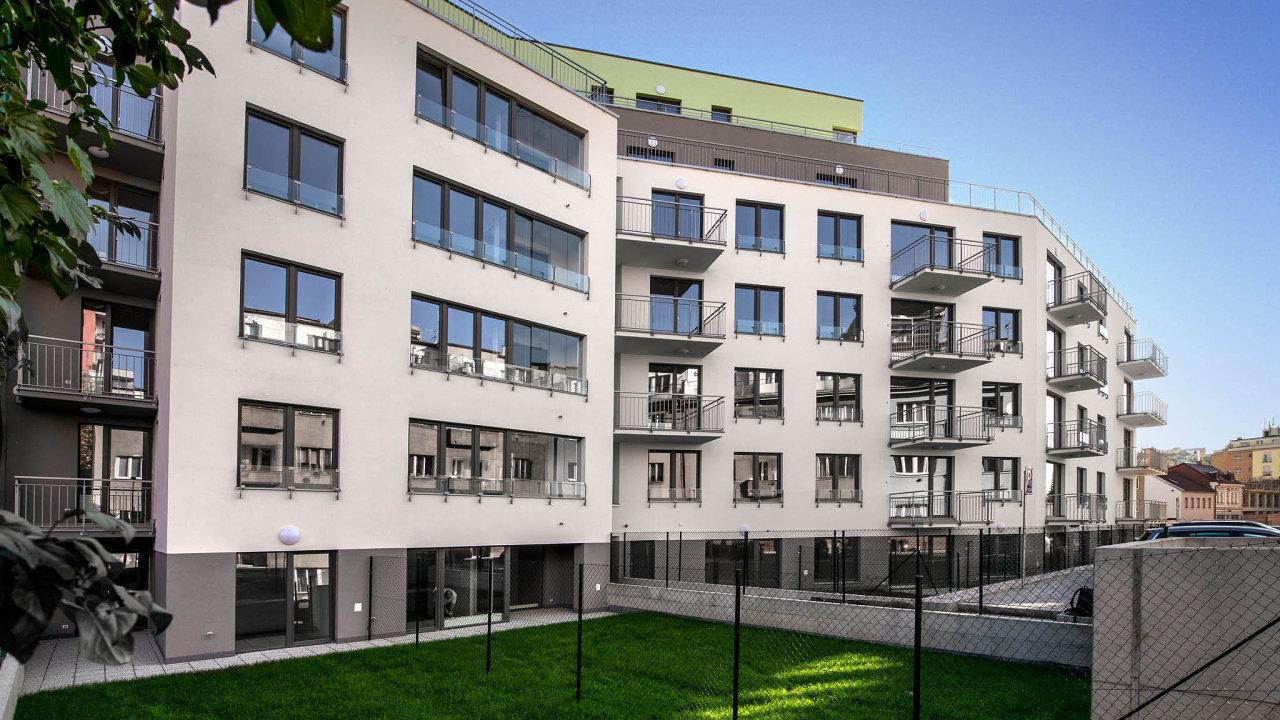 Developerská společnost Geosan nedávno zkolaudovala projekt Rezidence Vrchlického v Praze 5 se 73 byty.
