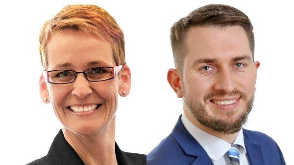 Jana Vávrová a Ladislav Hájek, management personální agentury Grafton Recruitment