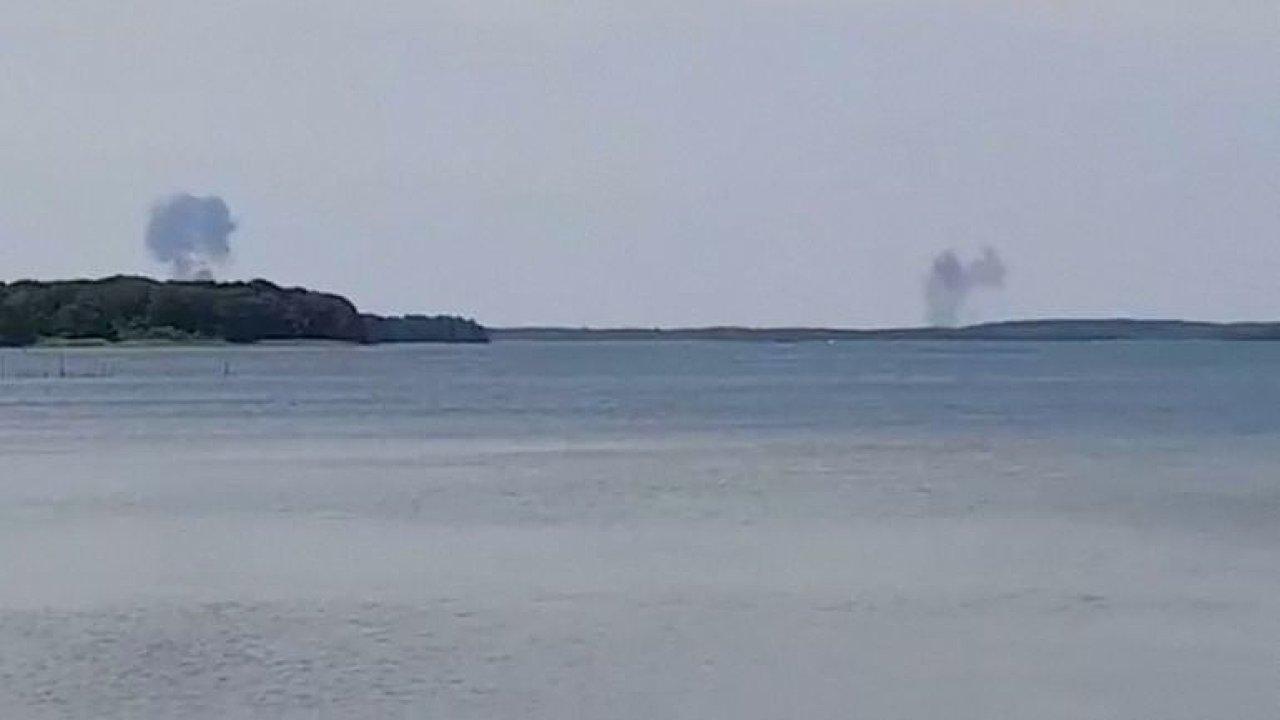 Víceúčelové letouny bundeswehru typu Eurofighter se srazily poblíž německého jezera Fleesensee
