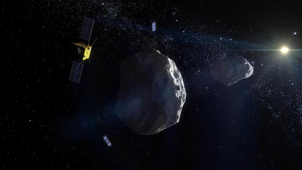 Zájem o Didymos. Na jeden z měsíců tohoto asteroidu zamíří specialisté z NASA sondu, která by ho měla vychýlit z dráhy.