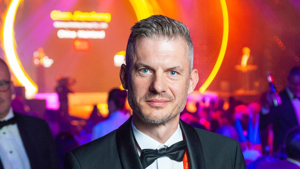 Šimon Šicko, spoluzakladatel a výkonný ředitel společnosti Pixel Federation, která vyvíjí počítačové hry. Letos získal titul slovenského EY Podnikatele roku.
