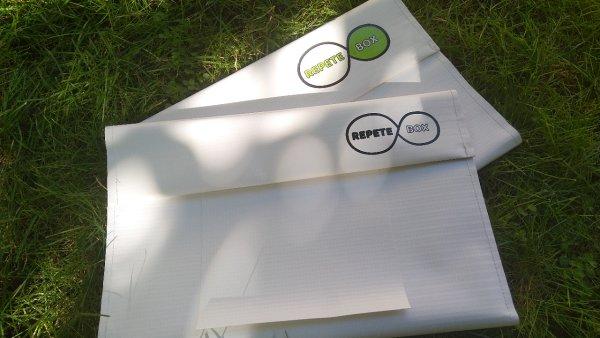 Inovativní obaly RepeteBox pro vícenásobné použití.